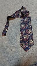 Mens Silk Neck Tie, Mickey Mouse, By Balancine Mickey & Co., Perfect Condition