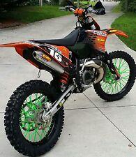 HUSQVARNA TC125/250 SPOKE COATS MX /colored spokes, covers, wraps, skins, wheels