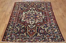 Persian Traditional Vintage Wool 193cmX130cm Oriental Rug Handmade Carpet Rugs
