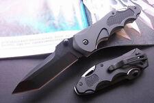 2018 Solid Knife Tactical Folding Pocket Outdoor Survival Rescue Saber with Bag