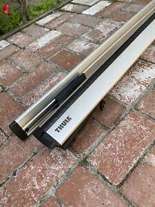 "Thule Aeroblade ARB47 Roof Rack Load Bars 47"" - Set of 2 Load Bars (Silver)"