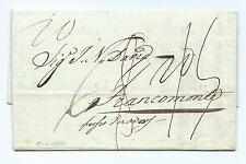 ITALY/SICILY: Cover Palermo to Belgium 1835, scarce.
