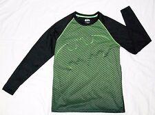 Batman men's long sleeve t-shirt black/green size M polyester crewneck