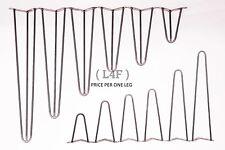 "Hairpin Table Legs 8"" - 28"" Designer Vintage 10mm (PRICE PER LEG) UK Seller"
