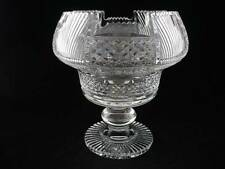 """WATERFORD - MASTER CUTTER FOOTED CENTER PIECE BOWL - 9 1/2"""" - EXCELLENT"""