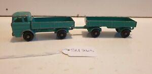 LESNEY Mercedes truck and trailer su263 TRAINGIRL13 FREE POST