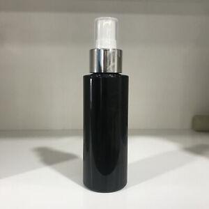 15PCS 100ML Black Plastic Perfume Atomizer Empty Spray Bottle Beauty Travel Set