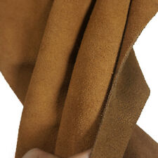2.0mm Brown Suede Leather Cowhide For leathercraft and tooling projects