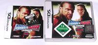Spiel: SMACK DOWN VS RAW 2009 Wrestling für Nintendo DS + Lite + XL + 3DS 2DS