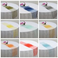 22 Colours Satin Table Runner and Satin Chair Bow Sash Wedding Party Decoration