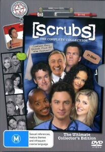Scrubs - The Complete Collection (DVD Box Set) - Region 4