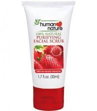 2x Human Nature - 100% Natural Strawberry & Bamboo Facial Scrub (50ml) Skin Care