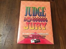 JUDGE 'N' JURY Game of Trials and Tribulations ~ New in Box