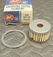 NEW NOS AC Gas Glass Bowl Fuel Filter Element with seal 854347 GM GF124
