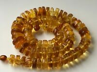 Natural Vintage Amber Beads Antique Baltic Old Necklace 52,25 gr.