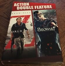 Combo Pack Beowulf World War Z DVD Collection - 2 Movies