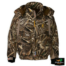 NEW BROWNING WICKED WING INSULATED WADER JACKET COAT REALTREE MAX-5 CAMO 3XL