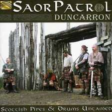 SAOR PATROL Duncarron: Scottish Pipes & Drums Untamed CD 2012