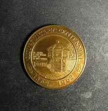 British Columbia 1862-1962 Centennial Medal