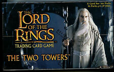 Lord Of The Rings The Two Towers CCG Decipher Booster Box 2002 New FS