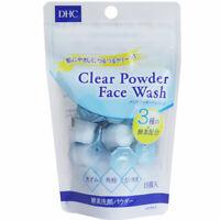 ☀DHC Clear Powder Wash Enzyme Face Wash Powder dead skin Care 0.4g x15 pieces
