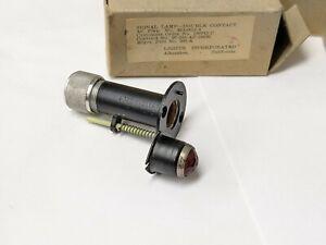 2 Double Contact Signal Lamp Amber AIRCRAFT 39A2822-4 INDICATOR PILOT LIGHT