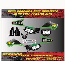 KAWASAKI KXF KX 65 85 125 250 450 Kit completo de la Etiqueta Engomada-Calcomanías-Kit completo de gráficos-MX
