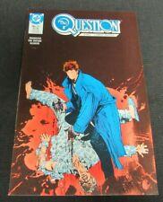 The Question #17 (1988) Key 1st Rorschach in DC Universe NM 9.4 JM364
