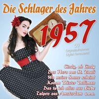 DIE SCHLAGER DES JAHRES 1957 2 CD NEU