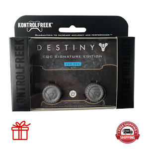 Kontrol Freek PS4 PS5 Controller Thumb Grips Destiny CQC Edition Silver 2pc NEW