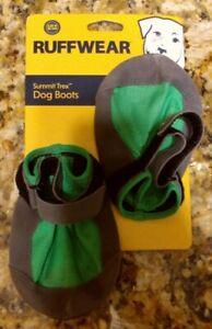 Ruffwear Summit Trex Dogs Boots 3.25 in/83 mm - Gray & Green - 2 Boots