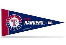 "New MLB Texas Rangers Mini Pennant  9""x4"" Made in USA"