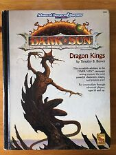 Dragon Kings-Advanced Dungeons & Dragons, 2nd EDIZIONE-DARK SUN World