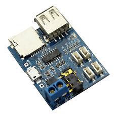 MP3 Format TF Card U Disk decoder board module decoding audio Player amplifier