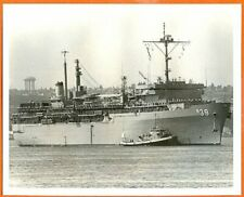1980s Submarine Tender USS Emory S Land AS-39 Photo #2