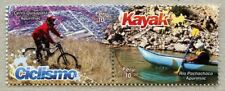 Peru 2017 Kanusport Fahrradsport Sport Kayak Bicycle Postfrisch MNH