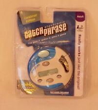 Catch Phrase Electronic Handheld Game Caribiner Edition