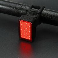 Fanale posteriore ricaricabile USB 28pcs COB LED bicicletta anteriore posteriore