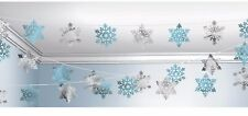 100ft Snowflake Hanging String Party Decorations Christmas Winter Wonderland
