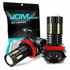 JDM ASTAR 2x H11LL High Power LED Fog Driving DRL Light Bulbs 6000K White 15-SMD