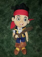 Disney Store Jake and the Neverland Pirates Plush Doll 14""