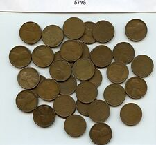 35 Pcs. 1919-S Lincoln 1C (#5148) Fine or Better. Most Better. Few with Light Is
