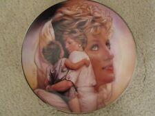 Franklin Mint ~ Queen Of Compassion ~ # Hb 6399 ~ Princess Diana Porcelain Plate