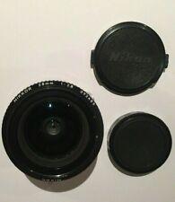 Nikon Nikkor 28mm 1:2.8 Camera Lens Complete With Lw