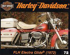 HARLEY DAVIDSON FLH 1200 Electra Glide 1972 ; 'ROMA 1' Roberto ROSSI ; MOTO HD