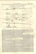 1896 Anchor Gear For Hms Victorious Baxters Sandiacre Fire Gun Sights