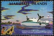 GRUMMAN SA-16 ALBATROSS Seaplane Flying Boat Aircraft Stamp (1986)