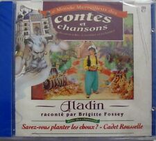 BRIGITTE FOSSEY (CD) ALADIN - NEUF SCELLE