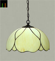 """Free Postage 16"""" JT Tiffany Stained Glass Elegant Pendant Light Home Leadlight"""