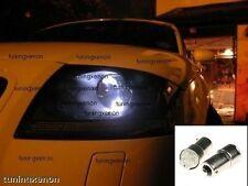 2 AMPOULE H6W VEILLEUSE A LED POUR AUDI TT PHASE 1 DE 1999 A 2006 + ROADSTER